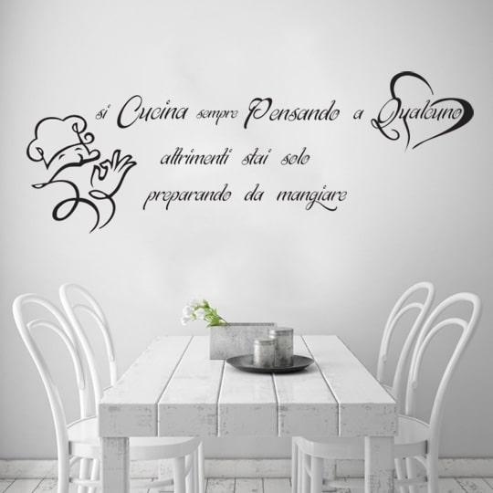 stencil si cucina pensando a qualcuno decortrend di fadr srl On stencil per mobili cucina
